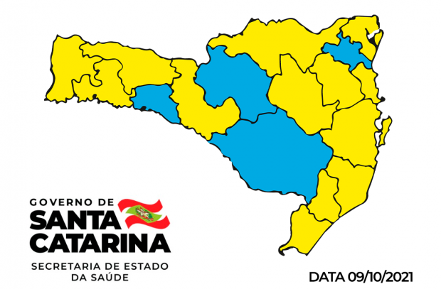 """Amauc permanece pela segunda semana consecutiva no nível """"moderado"""" no mapa de risco"""