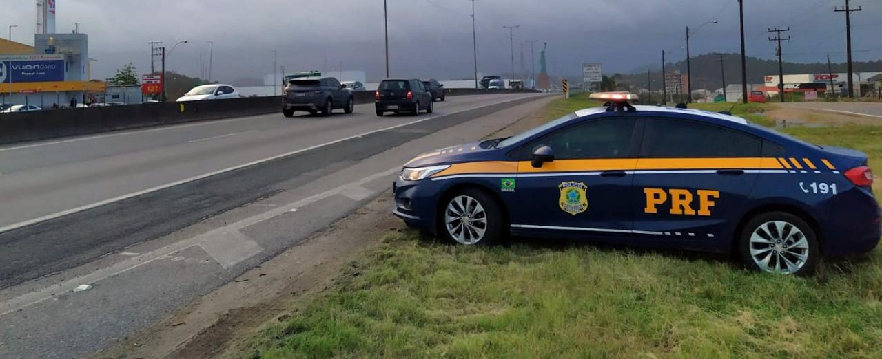 PRF registra quatro mortes nas estradas federais de SC