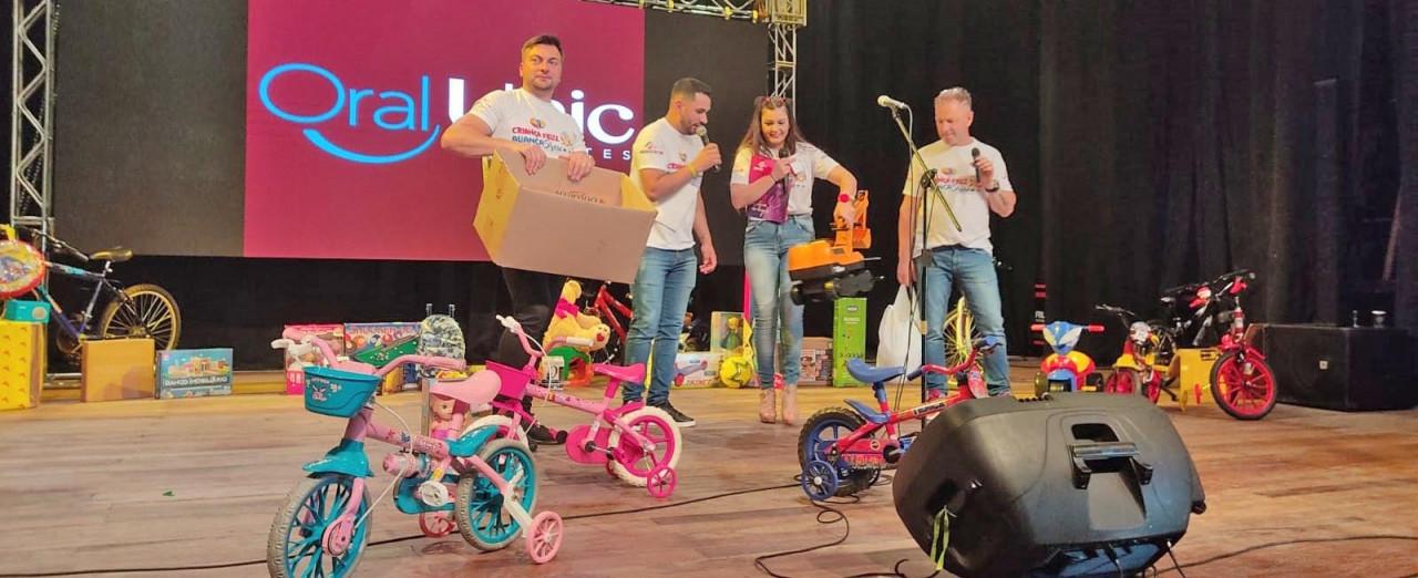 Confira a lista: Criança Feliz Aliança 2021 sorteia mais de 40 prêmios