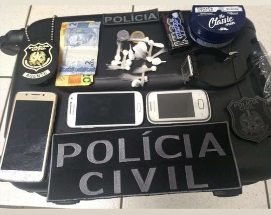 Polícia de Seara detém três por tráfico de drogas
