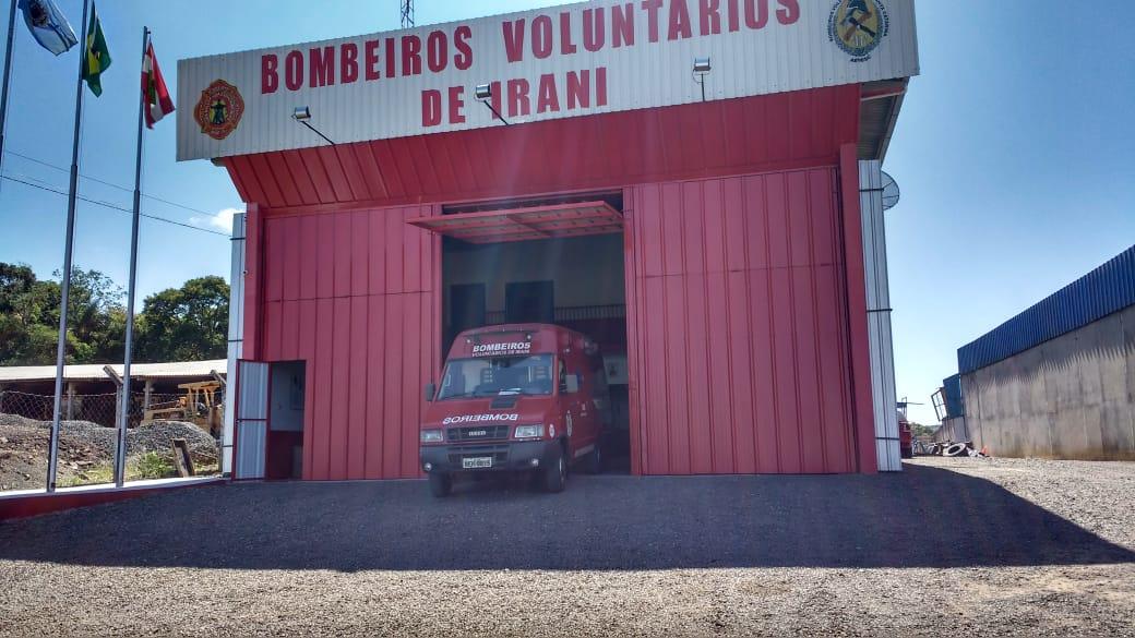 Bombeiros de Irani vão receber ambulância da Prefeitura