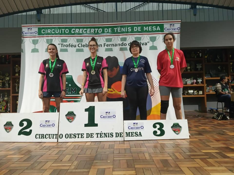 Etapa do Tênis de Mesa rende 12 medalhas para Concórdia