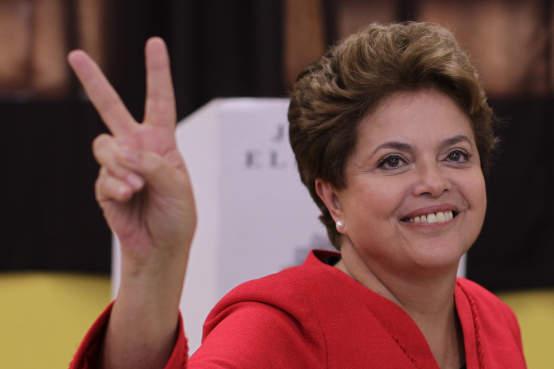 Dilma vence na AMAUC