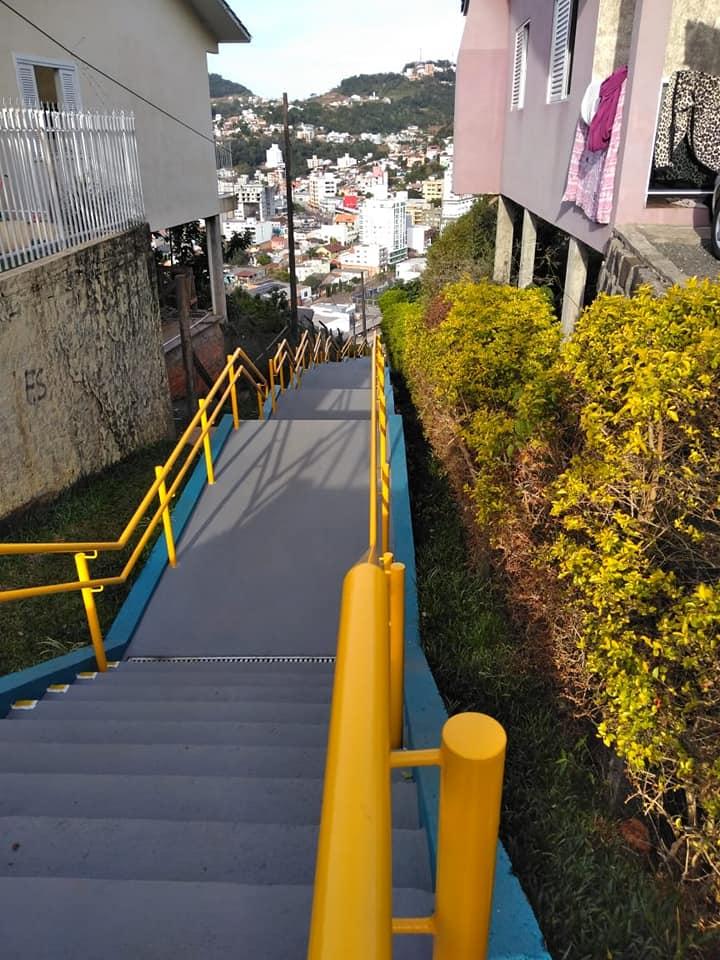Escadaria do Vista Alegre será inaugurada em julho