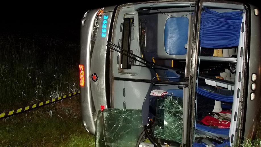Trinta feridos em acidente no norte do RS