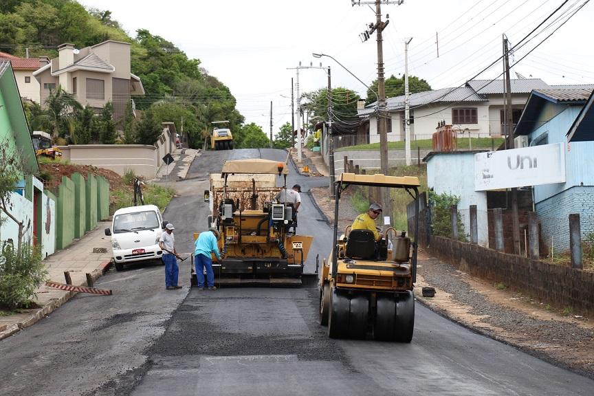 Mais dez ruas serão recapeadas em Concórdia