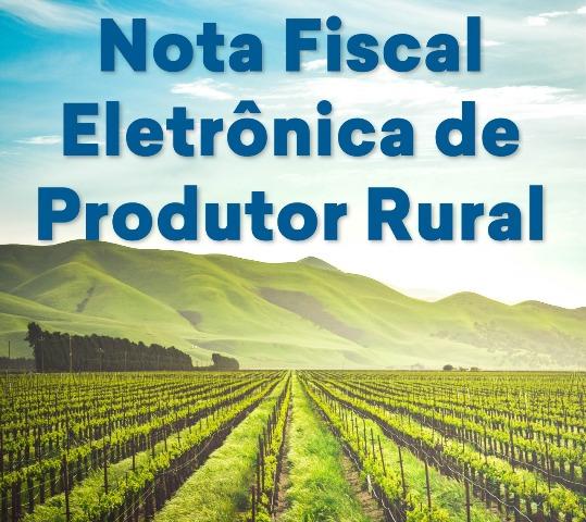 Nota fiscal eletrônica para os agricultores não é obrigatória