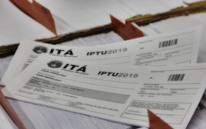 Pagamento do IPTU de Itá em cota única prevê desconto de 15%
