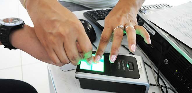 Cadastramento biométrico está disponível em todos os municípios