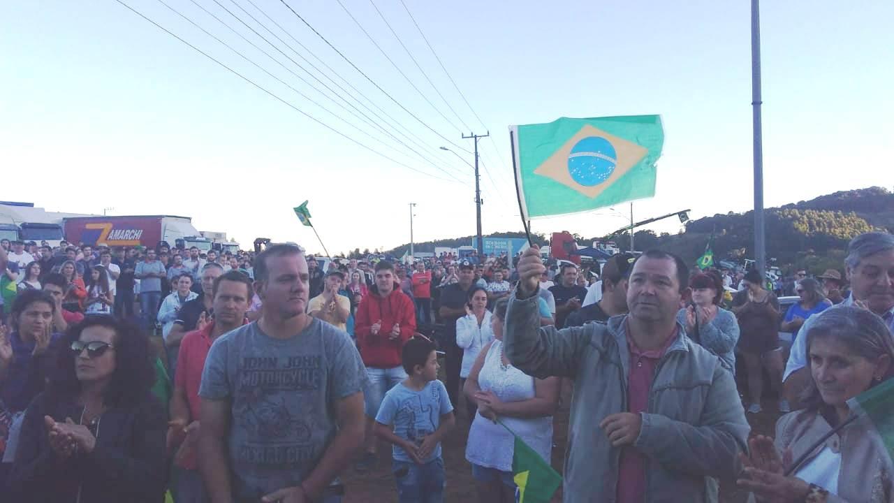 Terça-feira inicia com mobilização mantida em Concórdia