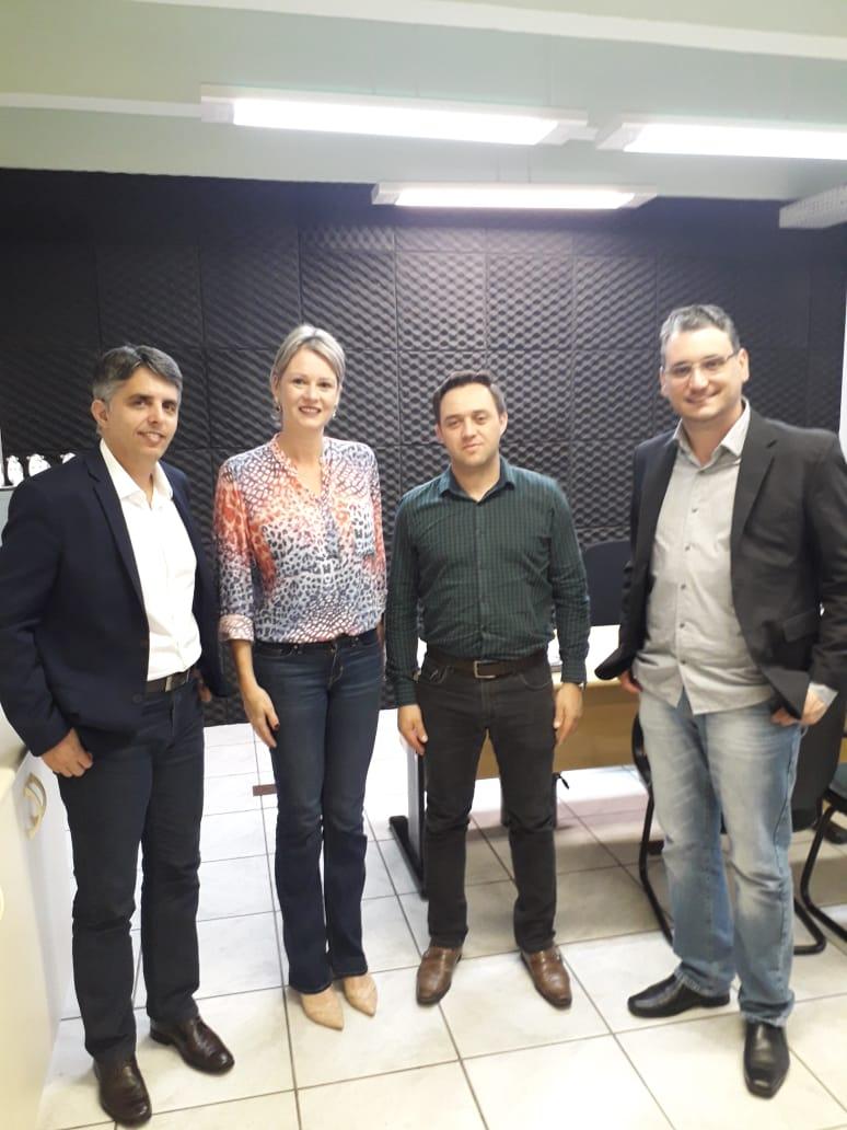 Prefeito Pacheco cumpre agenda na Capital e trata de nova área para exposições