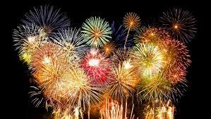 Muito cuidado com a queima de fogos de artifício